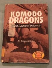 Komodo Dragons:Giant Lizards of Indonesia Endangered Animals 1995 Hardcover