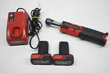 """Snap-on CTR725A 1/4"""" Dr. 14.4V Cordless Ratchet Kit, Charger, 2 Batteries CTB817"""
