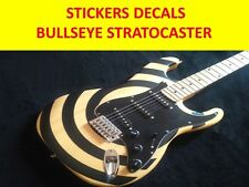 STICKERS BULLSEYES STRAT BLACK E. OJEDA TWISTED SISTER VISIT MY STORE CUSTOMIZED