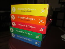 1998 Hooked on Phonics – Level 1 to 5 Set – Used