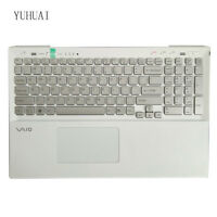 For Sony VAIO SVS151B11L SVS151C1GL SVS151G1GL US With backlight keyboard Silver