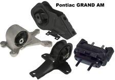 8MB223P 4pc Motor Mounts fit 2.4L 3.4L engine 1999 2000 - 2005 Pontiac GRAND AM