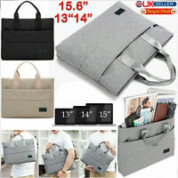 """13 14 15.6"""" Inch Laptop Bag Notebook Sleeve Case Cover For Apple MacBook Air Pro"""