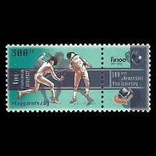 Hungary 2013 - World Fenching Championships Budapest Sports - Sc 4289 MNH