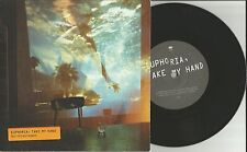 GLASVEGAS Euphoria Take My hand  w/ UNRELEASED UK 7 Inch Vinyl 2011 USA Seller