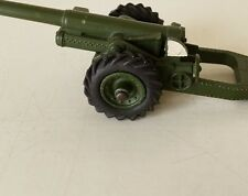 DINKY # 693 7.2 HOWITZER ARTILLERY GUN  2 CORRECT ISSUED TREADED TIRES ONLY !!