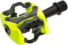 iSSi Flash II Pedals - Dual Sided Clipless Aluminum 9/16 Yellow