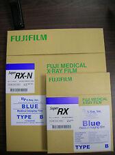Fuji RX-N 14x17 AND 8x10 X-ray Film (Blue Sensitive) - 100 sht box each