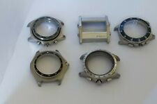 Tag Heuer Aquatacer Link Microtimer LOT 5 Stainless Steel Watch Men's Cases