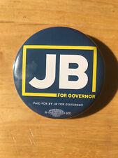 Illinois Democrat JB Pritzker For Governor Button pinback 2018