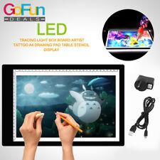 LED Zeichenbrett USB Leuchtplatte für Kinderspiel Mikro Lichtquelle Kinder DE