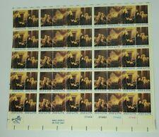 1976 July 4, 1776 13 Cent Sheet of 50 Mint