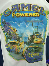 New in Box Vintage 94 CAMEL Powered Racing NASCAR T-Shirt. Tshirt XL Color Bleed