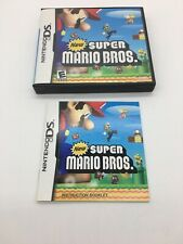 Super Mario Bros. Nintendo DS Replacement Case and Manual Only *No Game* C9