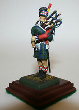 Scottish Black Watch Kilt Painted Toy Soldier Bagpipe Grenadier 1845