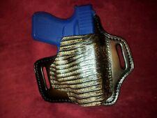 Fits Glock 43 Hybrid suede lined OWB Holster