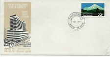 1971 New Zealand 1970/71 Definitive Stamps Issue unaddressed illustrated FDC.
