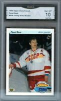 GMA 10 Gem Mint PAVEL BURE 1990/91 Upper Deck YOUNG GUNS *FRENCH* CANUCKS!