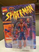 Marvel Legends Spiderman Retro Vintage Figure EXCELLENT CONDITION