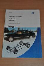 Selbststudienprogramm SSP 277 VW Der Phaeton Fahrwerk Stand 03/ 2002