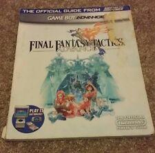 Final Fantasy Tactics Advance Nintendo Power Guide