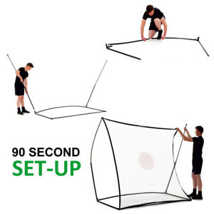Quickplay Multi Sports Ball Rebounder Net System Football 7x7ft target practice