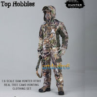 "1/6 Realtree Camo Hunting Clothing Set Soldier Clothing Fit 12"" Body Figure Toy"