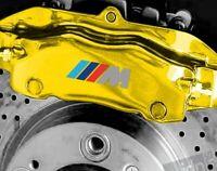 4 Pegatinas sticker caliper brake BMW M pinzas freno 5 cm