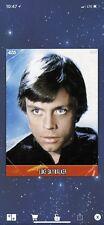Topps Star Wars Digital Card Trader Vintage Series III Marathon Luke Skywalker