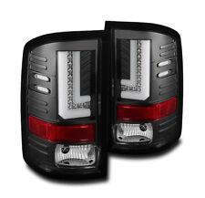 2014-2016 GMC SIERRA 1500/2015-2016 2500 3500 HD BLACK LED TAIL BRAKE LIGHTS NEW