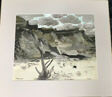 Artist Jacques Falcou (French 1912-1975) Untitled Modernist Art Painting