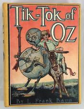 Antique Wizard of Oz Book Tik-Tok of Oz L Frank Baum