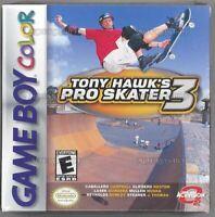 Tony Hawk's Pro Skater 3 - Nintendo Game Boy Color Cartridge