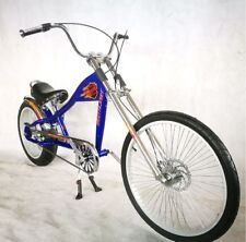 Rosetta Deporte la Bicicleta Lowrider Azul Mo Chopper Harley Cruiser