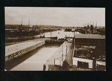 Gloucestershire Glos BRISTOL Avonmouth Docks c1920/40s? RP PPC Chatterton Series