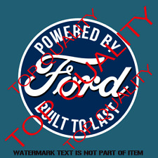 """N751 FORD MOTORSPORT RACING STICKER 1/"""" Tall TWO DECALS SVT DECAL"""