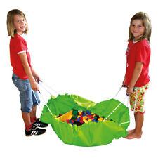 Aufräumsack Spieldecke grün Krabbeldecke Ø 150 Kinder Kinderzimer aufräumen NEU