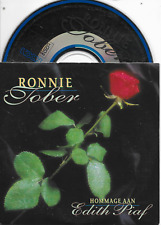 RONNIE TOBER - Hommage aan Edith Piaf CD SINGLE 2TR Dutch Cardsleeve 1998