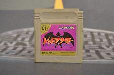 GARGOYLE'S QUEST MAKAIMURA GAIDEN GAME BOY JAP JP JPN GB COMBINED SHIPPING
