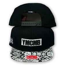 Original YMCMB Snapback Cap Young Money Cash Money Billion Aires Noir/Blanc