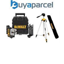 Dewalt DW089K-XJ 3 haz 3 Way Auto Nivelación Multi Línea Láser + Soporte + Trípode