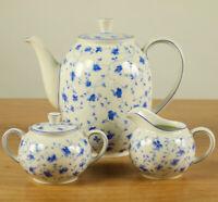 Tischkern Arzberg Blaublüte Kanne Milch Zucker Erstausf. Porzellan Form 1382