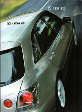 LEXUS IS 2001-02 UK Market sales brochure 200 SE Sport 300 Saloon SPORTCROSS