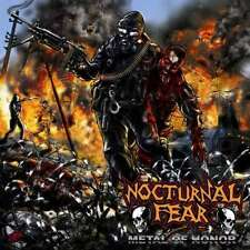 Nocturnal Fear - Metal of Honor CD 2009 thrash Moribund Records