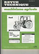 (3A)REVUE TECHNIQUE AGRICOLE TRACTEUR FORD / MOTEURS PERKINS