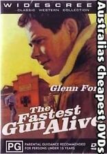 The Fastest Gun  Alive DVD NEW, FREE POSTAGE WITHIN AUSTRALIA ALL REGIONS