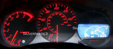 2000+ Toyota Celica GT / GTS Gauge Cluster RED Needles / White LCD Led Kit