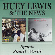 Small World/Sports by Huey Lewis & the News CD NEW 1999 Beat Goes On