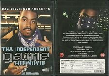 RARE / DVD - THA INDEPENDENT GAME : THE MOVIE / DAZ DILLINGER / RAP US USA