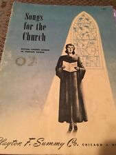 Vintage Songs For The Church Music Book